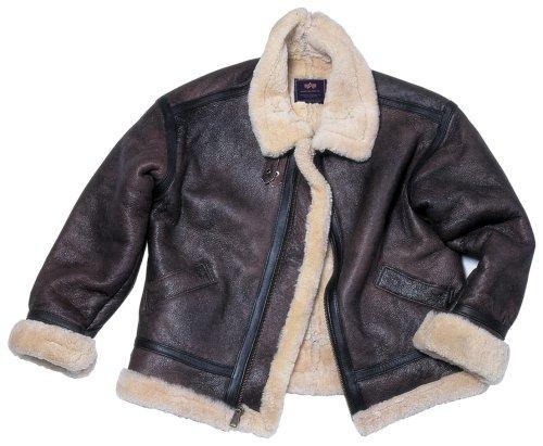Alpha B - 3 Sherpa Flyer's Jacket - Buy Alpha B - 3 Sherpa Flyer's Jacket - Purchase Alpha B - 3 Sherpa Flyer's Jacket (Alpha, Alpha Mens Outerwear, Apparel, Departments, Men, Outerwear, Mens Outerwear)