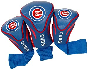 MLB Chicago Cubs Contour Head Cover (Pack of 3), Blue by Team Golf
