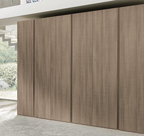 ARMADIO 6 ANTE H247 x 272 x 59 BATTENTI MODERNO VALENTINI CAMERA LETTO art.va760