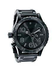Nixon Men's '51-30' Tide Subdial All Black Watch A057-001-00