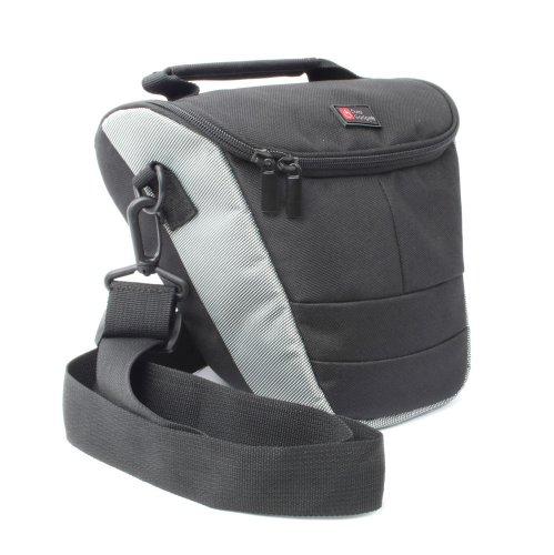 Wasserabweisende Kameratasche / Transporttasche für Panasonic Lumix DMC-TZ57, DMC-TZ70, DMC-ZS50, DMC-FT30, DMC-TS30 und DMC-SZ10 Kompakt Kameras - von DuraGadget