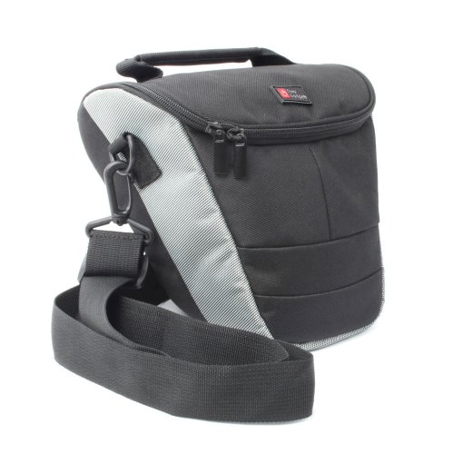 Large DURAGADGET Carry Case For Digital SLR Camera Compatible With Nikon Coolpix Models Inc D5100, D3100, D300S AND D700