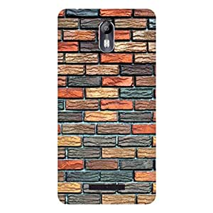 GripIt Brick Wall Back Cover for Micromax Canvas Evok