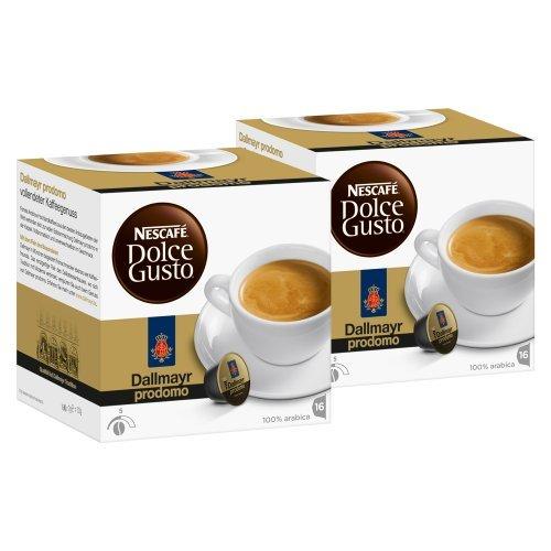 Nescafé Dolce Gusto Dallmayr prodomo, Pack of 2, 2 x 16 Capsules by Nescafé