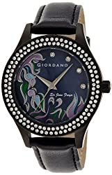 Giordano Analog Black Dial Womens Watch 2588-02