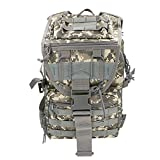 WEILY リュックザック アウトドア 登山用バッグ サイクリング用 40L 大容量 防水 (迷彩)