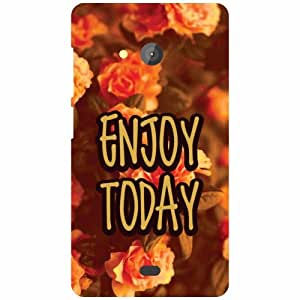 Printland Microsoft Lumia 540 Dual SIM Back Cover High Quality Designer Case