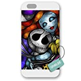 Onelee(TM) - Customized Disney The Nightmare Before Christmas Frosted Case Cover for Apple iPhone 6 - White 02