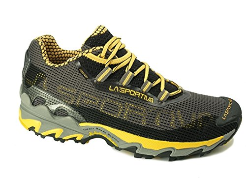 LA SPORTIVA WILDCAT GTX, SCARPA DA TRAIL UOMO (45, Black/Yellow)
