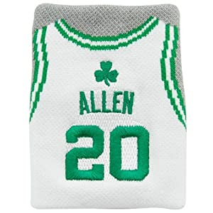 NBA Boston Celtics Ray Allen Jersey #20 Fan Band Wristband Sweatband by Fan Band