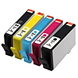 E-Z Ink Remanufactured Ink Cartridge Replacement for New Generation HP 564XL CN684WN CN685WN CN686WN CN687WN CR277WN (1 Black, 1 Photo Black, 1 Cyan, 1 Magenta, 1 Yellow)