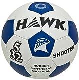 Hawk Shooter Football, Size 5 (White/Blue)