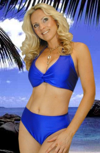 Royal Blue Full Coverage Highwaisted Swimwear Bottom online