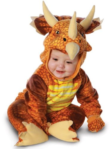 Baby's Triceratops Costume Jumpsuit