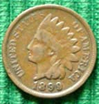Indian Head Cent / Penny Mixed Date C...