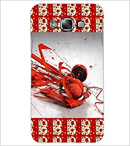 PrintDhaba Music D-4630 Back Case Cover for SAMSUNG GALAXY E7 (Multi-Coloured)