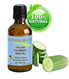 CHILEAN CUCUMBER SEED Carrier Oil. 100% Pure / Natural / Undiluted. Cold Pressed. Skin Care. (0.33 Fl.oz.- 10 ml.) by Botanical Beauty