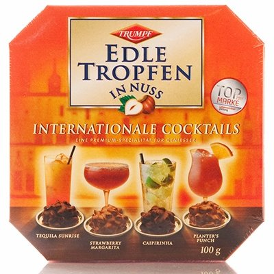 Trumpf Edle Tropfen in Nuss Internationale Cocktails