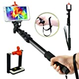Amababa(TM)48 Inch High Grade Heavy Duty Extendable Handheld Monopod Selfie Stick+Tripod Mount Adapter+Mobile Phone Tripod Mount Adapter Bundle for GoPro Hero 1/2/3/3+ Digital Camera and Cellphone(Up to 85mm Width) (Sold by Wsun and Fulfilled by Amazon:B00MO9Y88A)