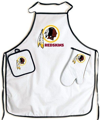 Washington Redskins Grilling Apron Set