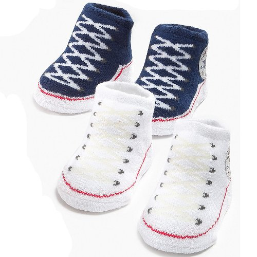 Converse ICV0012 Infant Baby Booties 0-6 Months (Navy)