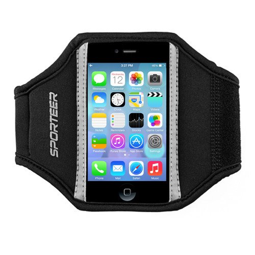 Sporteer Armband for iPhone 4s/4/3G and iPod touch 4G/3G - S/M