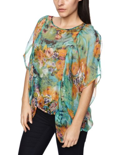Traffic People Faded Bloom Blossom Women's Blouse
