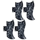 4 pcs New 3PLY Black Pearl Guitar Pickguard-For Gibson SG Standard