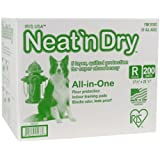 IRIS Neat 'n Dry Training Pads, 200-Count