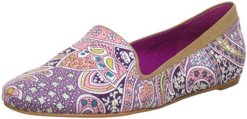 ESPRIT Tally Slipper Q05505, Mocassini donna, Rosa (Pink (ancient pink 668)), 39