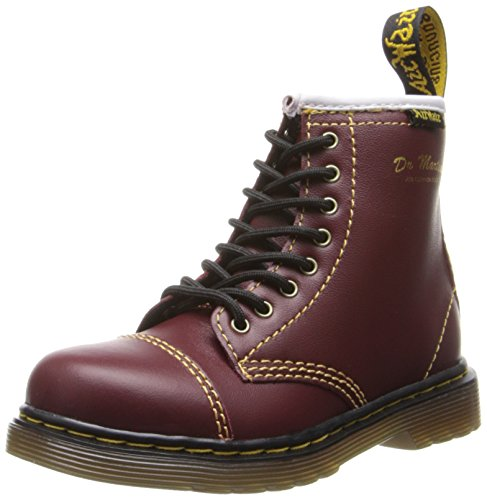 Dr. Martens Buster Boot (Toddler),Cherry Red,8 Uk (9 M Us Toddler) front-417856