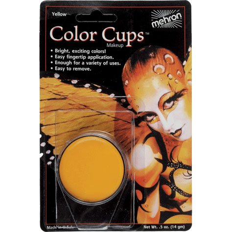Yellow Color Cups (1 per package)