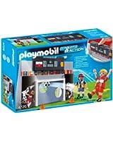 Playmobil - 4726 - Jeu de construction - Mur de tir au but et joueurs