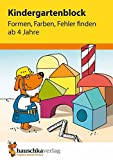 Kindergartenblock - Formen
