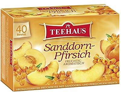 Teehaus Sanddorn-Pfirsich, 6er Pack (6 x 90 g) von Teehaus bei Gewürze Shop
