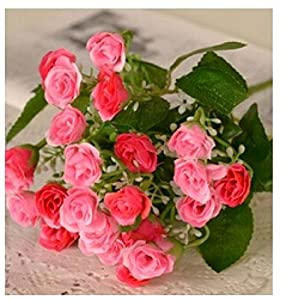New artificial flowers for wedding decorations for Decorate with flowers amazon