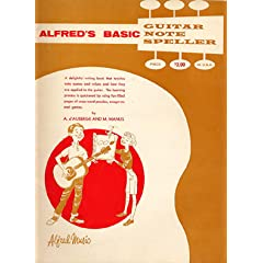 Alfred's Basic Guitar Note Speller