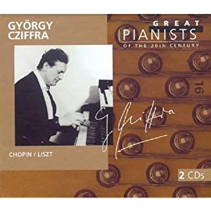 Great Pianists of the 20th Century - György Cziffra