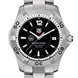 TAG HEUER watch:Boston College TAG Heuer Watch - Men's Steel Aquaracer with Black Dial at M.LaHart