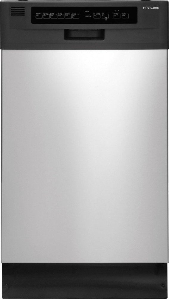 Frigidaire FFBD1821M 18-inch Built-In Dishwasher with Stainless Steel Interior and Delay Start