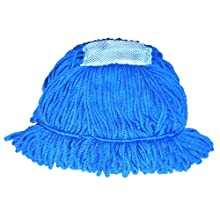 Wilen A09003, Duraloop Wet Mop, Large, Blue (Case of 12)
