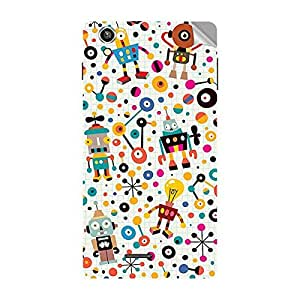 Garmor Designer Mobile Skin Sticker For Vivo Y17 - Mobile Sticker