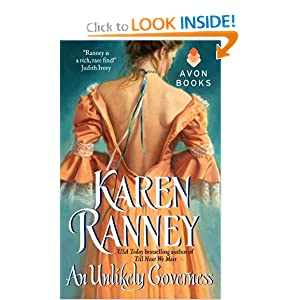 An Unlikely Governess (Avon Romantic Treasure) Karen Ranney