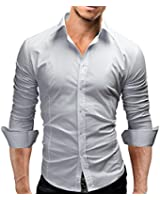 Chemise homme slim fit manches longues Business