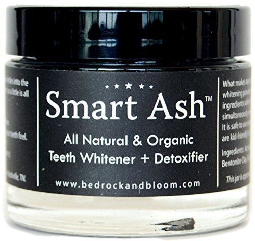 Smart Ash Organic All Natural Whitening Tooth 0743724463828