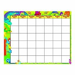 Trend Enterprises Inc. T-27020 Dino-Mite Pals Wipe-Off Calendar