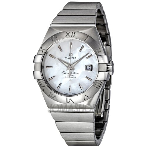 Omega Women's 123.10.31.20.05.001 Constellation White Mother-Of-Pearl Dial Watch