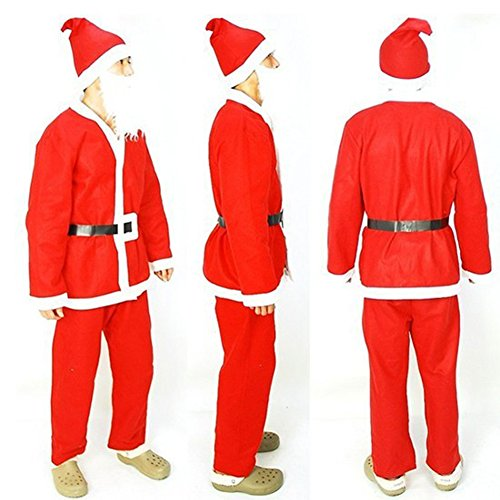 Fllt Sexy Christmas Santa Claus costumes Role Play Sets corset