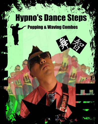 Hypno Dance Steps combo Pop & Waves (Streetdance Breakdance Instructional)