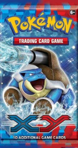 Pokémon Trading Card Game: XY Sleeved Booster Pack - 1
